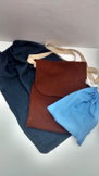 wool and linen bags